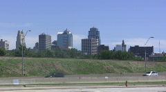 Downtown Kansas City - stock footage