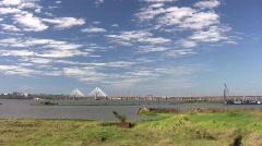 Parana bridge Stock Footage