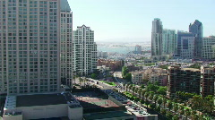 San Diego View HD - stock footage