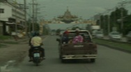 Stock Video Footage of On road in Chonburi 3