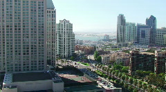 San Diego City View HD - stock footage