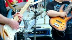 Guitars Stock Footage