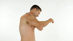 Man muscle pain Stock Footage