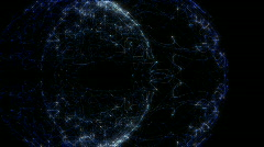 abstract motion background- loop - stock footage