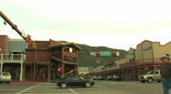 Stock Video Footage of Jackson Wyoming Downtown Pan