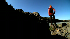 Reaching the Heights Stock Footage