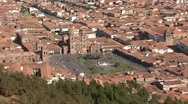 Stock Video Footage of Panorama of Cusco city