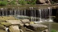 Db pillsbury crossing waterfall Stock Footage