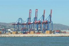 NTSC: Port of Malaga Stock Footage