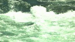 White Water Rapids Stock Footage