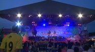 Stock Video Footage of Chonburi buffalo festival stage