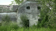Stock Video Footage of Abandoned house.