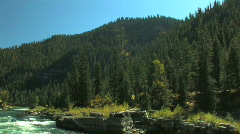 Snake River Rapids Stock Footage