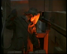 Steel maker  Stock Footage