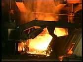 Stock Video Footage of metal production 04