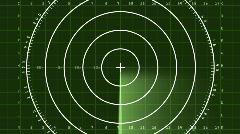Radar Blip Full Screen, Digital (30fps) Stock Footage