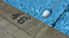 Swimming pool. Stock Footage