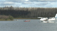 Stock Video Footage of Twin Otter take off
