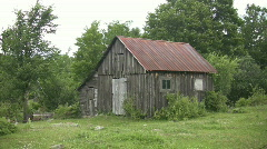 Rural shack. Stock Footage