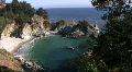 California Coasts Big Sur McWay Fall 11 Loop Footage