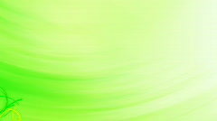 Abstract Organic Green Background Stock Footage