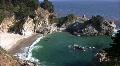 California Coasts Big Sur McWay Fall 13 Loop Footage