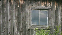 Old window. Stock Footage