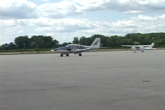 Plane Taxi Stock Footage
