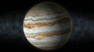 Planet jupiter 25 Stock Footage