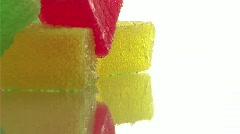 Gelatine jello Stock Footage