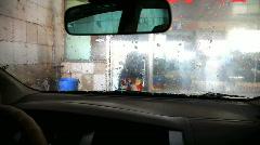 Car washing Stock Footage
