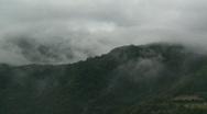 Jungle clouds time lapse 2 Stock Footage