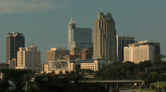 Raleigh, NC Downtown Arkistovideo