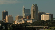 Stock Video Footage of Raleigh, NC Downtown