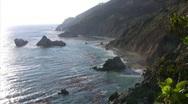 California Coasts Big Sur Sunset 03 Loop Stock Footage