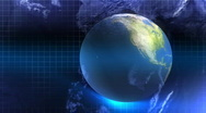Stock Video Footage of Blue Earth