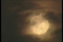Moon-7-4-09 - stock footage