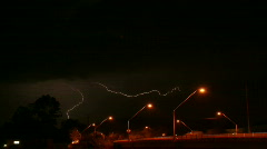 Sheet lightning Hi Res Time Lapse Stock Footage