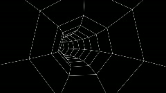 Heptagon Tunnel (HD1080) Stock Footage