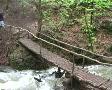 man walking bridge Footage