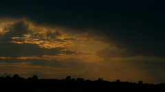 Sunset clouds 4 tl hdp Stock Footage