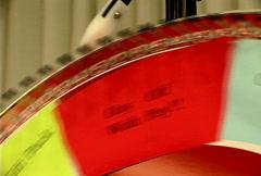 Big Lucky Spinning Wheel 010 Stock Footage