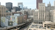 Stock Video Footage of Chicago Loop