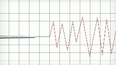 Seismograph or Polygraph HD1080 Loopable Stock Footage