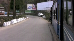 Darjeeling train H264 Widescreen 1280x720 Stock Footage