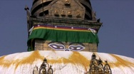 Stock Video Footage of Swayambhunath temple, Kathmandu, Nepal