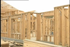 New Construction Halted 017 Stock Footage