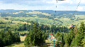 Chair lift in Carpathians Footage