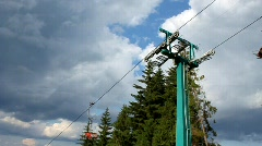 Cable railroad Stock Footage