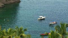 Island Paradise Zoom Stock Footage